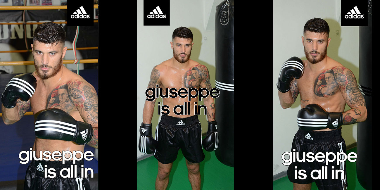 Giuseppe is all in